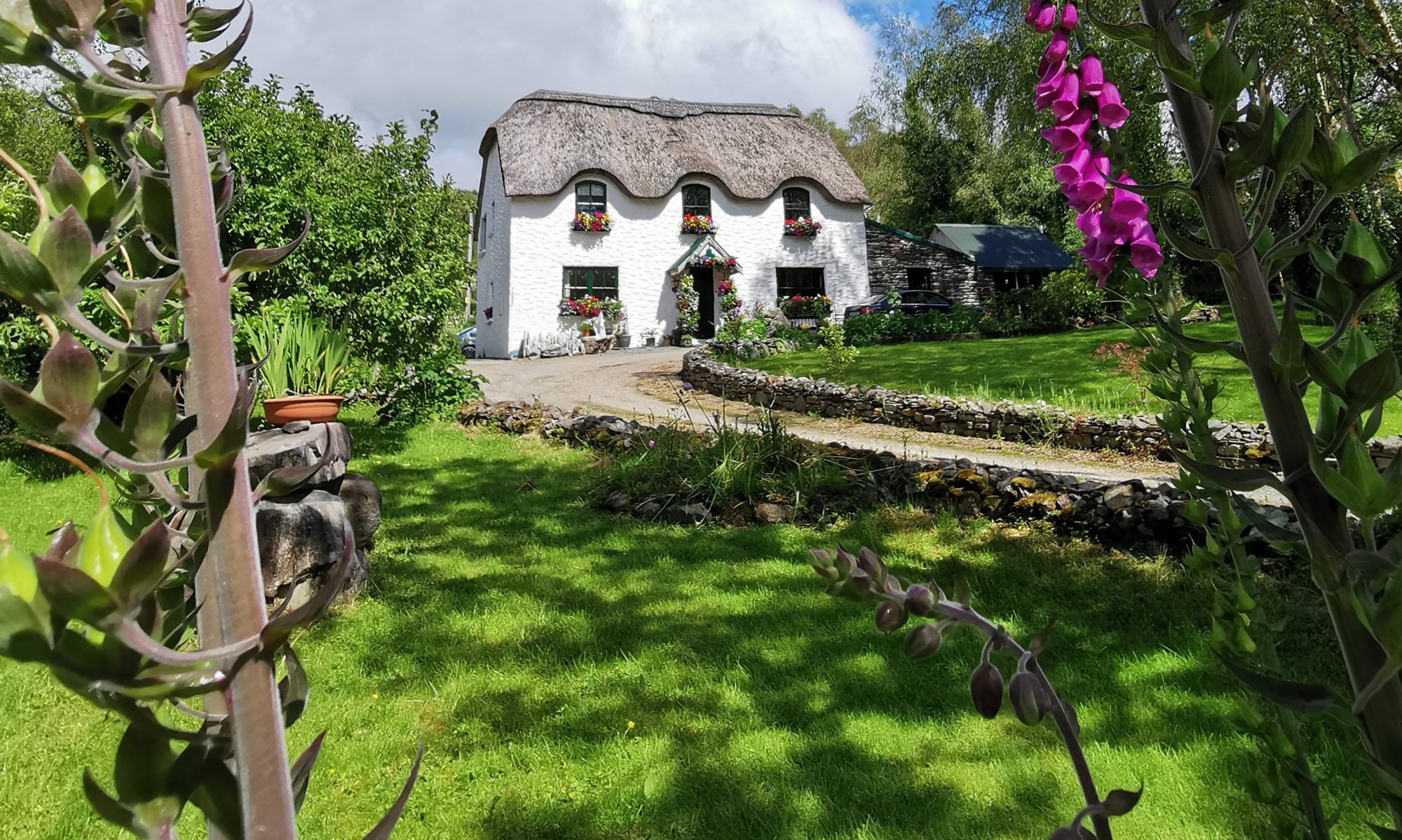 Lissyclearig Thatched Cottage B&B - Kenmare, Co. Kerry, Ireland